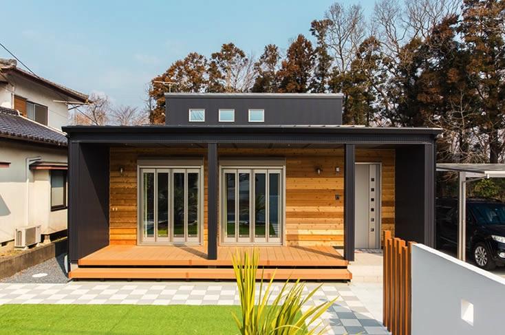 ガリバニウム外壁・屋根の家の例