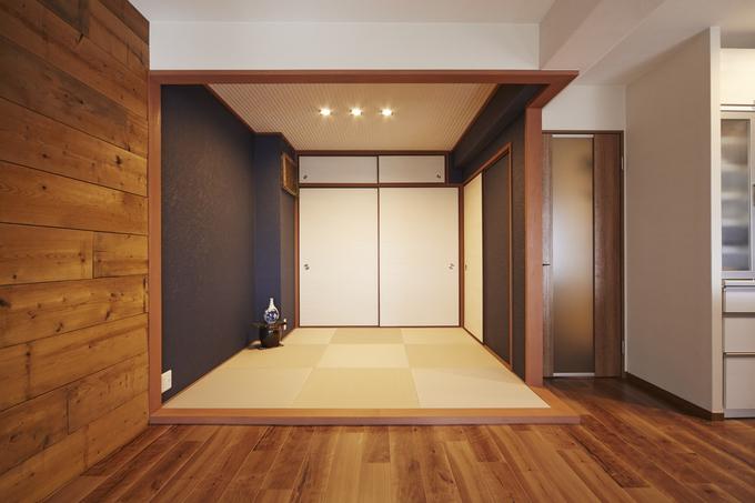 和室から洋室、洋室から和室へのリフォーム、またはリノベーション